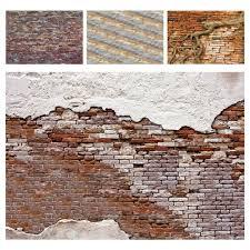 fototapete steinoptik ziegel mauer wand backstein stein wohnzimmer tapete 2