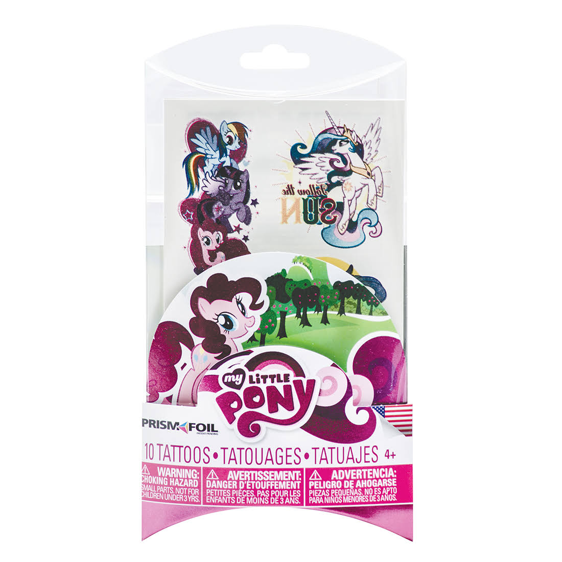 Schleich | My Little Pony Prism Foil Tattoos 10-Pack