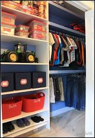 Simple Ideas Boys Closet Update Guest Dollar Store Bins And Kid
