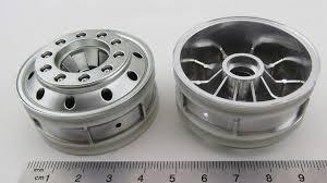 100 Chrome Truck Wheels TAMIYA Truck Wheels 2 Front Chromematt For Front Axle F