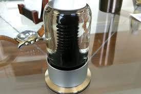The Inspiration Ferrofluid Lamp by A Magnetic Christmas Gift Rize The Fancy Ferrofluid Sculpture
