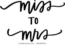 From Miss To Mrs Images Stock Photos Vectors