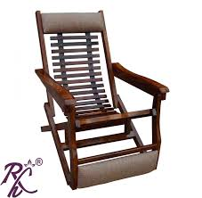 100 Folding Chairs With Arm Rests Buy Wooden Comfortable Chair Leg Rest Online In India