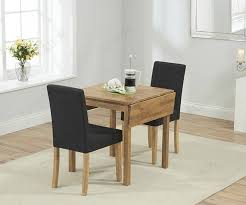 Mark Harris Promo Oak Rectangular Dining Table With 2 Black Chairs FDUK  BEST PRICE GUARANTEE WE WILL BEAT OUR COMPETITORS PRICE! Give Our Sales  Team A ...