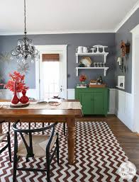 Dining Room Side Table Decor