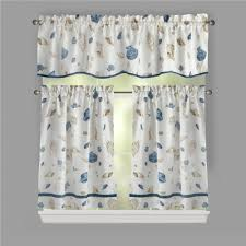Window Art Tier Curtains And Valances by Nautical Cove Window Tier U0026 Valance Set Christmas Tree Shops