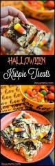 Rice Krispie Halloween Treats Spiders by Easy Halloween Rice Krispie Treats Tutorial Its Yummi