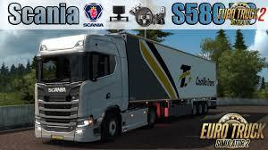 Scania S580 V8 2017 - Euro Truck Simulator 2 » ETS2 Mods | Euro ...