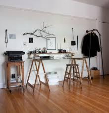 idee de bureau idée un bureau sur tréteaux 12 inspirations et une selection