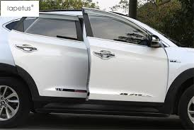 Accessories For Hyundai Tucson 2016 2017 OutSide Door Molding Body