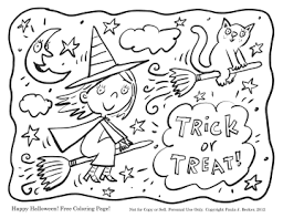 Images Happy Halloween Coloring Pages To Print