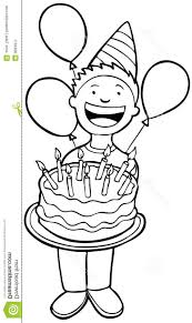 best 15 birthday clipart black and white pictures