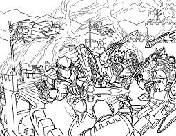Hero Factory Coloring Pages