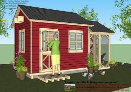 12 X 20 Modern Shed Plans by Home Garden Plans Chicken Coops