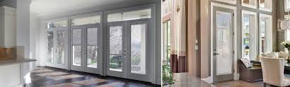 Therma Tru Patio Doors With Blinds by Smooth Star Hinged Patio Doors T M Cobb