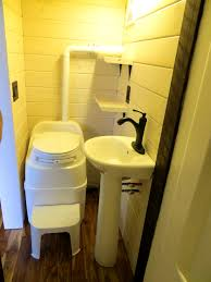 Apartments : Fascinating Comfortable Tiny House Bathroom Best ... Tiny Home Interiors Brilliant Design Ideas Wishbone Bathroom For Small House Birdview Gallery How To Make It Big In Ingeniously Designed On Wheels Shower Plan Beuatiful Interior Lovely And Simple Ideasbamboo Floor And Bathrooms Alluring A 240 Square Feet Tiny House Wheels Afton Tennessee Best 25 Bathroom Ideas Pinterest Mix Styles Traditional Master Basic