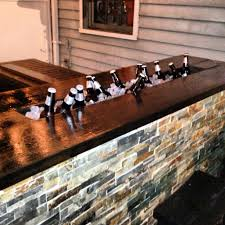 Wooden Patio Bar Ideas by Perfect At The Edge Of The Back Deck Dream Home Pinterest