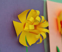 Spring Construction Paper Crafts