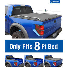Soft Low-Profile Roll Up Tonneau Cover For 2004-2008 Ford F-150 ...