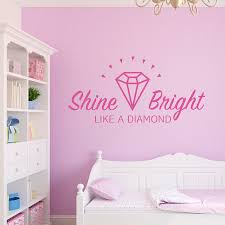 quote wall decal shine bright like a decorative room