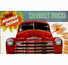 100 Chevy Truck Parts And Accessories 1948 Sales Brochure EBay