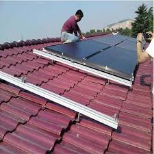 tile roof solar panel pv mount kit aluminum solar roofing mounting