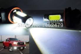 pair 6000k white h10 9145 9140 for cree chips car bulb led