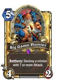 Hunter Hearthstone Deck Kft by Big Game Hunter Hearthstone Cards