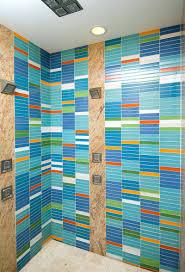 tiles blue tile shower wall blue tile shower floor blue