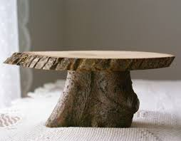 This Is An Absolutely Fabulous Natural Wood Cake Stand Designed And Made By Hensindaisies Discovered On Etsy I Love The Look