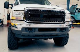 2004 Ford F-250 - Front End Face-Lift: Part One 62018 Chevy Silverado 1500 Chrome Mesh Grille Grill Insert Blacked Out 2017 Ford F150 With Grille Guard Topperking File_0022jpg88384731087985257 Grill Options Raptor Style Page 91 Forum Trd Pro Facelift For A 2014 1d6 Silver Sky Metallic Sr5 Off American Roll Cover Truck Covers Usa Gear Christiansburg Va Bk Accsories Winter Cover Capstonnau Inlad Van Company