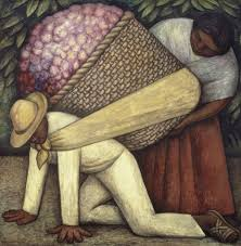 Diego Rivera Rockefeller Mural Analysis by Diego Rivera The Flower Carrier 1935 Artsy