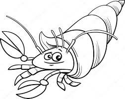 Livre De Coloriage De Crabe Illustration De Vecteur Illustration
