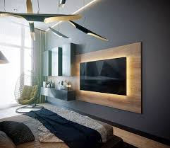most contemporary and magnificent tv wall designs living