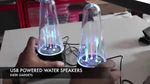 Spencers Lava Lamp Speakers by Dancing Water Speakers Youtube