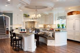 Charleston Kitchen Booth Seating Traditional With Drawer Storage Wooden Dining Benches Bow Front