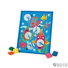 Tropical Fish Bean Bag Toss Game