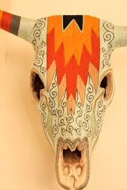 Decorated Cow Skulls Pinterest by 383 Best Skulls Images On Pinterest Animal Skulls Deer Skulls
