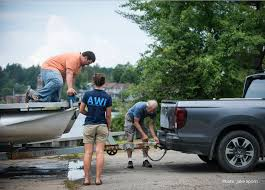 100 Hoosier Truck And Trailer AWI Stewards Intercept Hydrilla On Personal Watercraft Trailer At