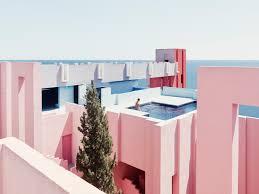 100 Ricardo Bofill La Muralla Roja Taller De Arquitectura