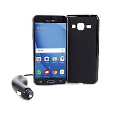 """Samsung Galaxy J3 5"""" Super AMOLED No Contract Android Smartphone"""