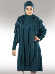 stylish and congenial jersey tunic islamic dress by farhana