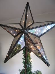 Bethlehem Lights Christmas Tree Instructions by Mercury Glass Lighted Christmas Tree Star 65 00 Via Etsy
