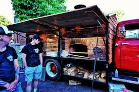 100 Mobile Pizza Truck Sticks Bricks Wood Fired Food Interestingasfuck