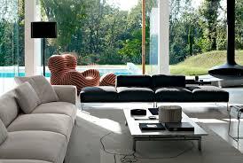canapé b b italia modular sofa contemporary leather fabric frank b b italia