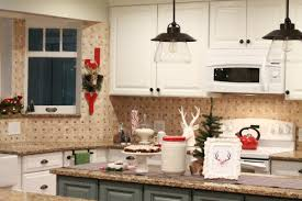 Easy Christmas Decor Ideas Ways To Bring Red Into Your Kitchen With Some Simple Accessories