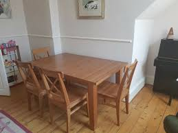 Ikea Stornas Dining Table And 4 X Chairs Antique Stain | In Sunderland,  Tyne And Wear | Gumtree Refishing The Ding Room Table Deuce Cities Henhouse Painted Ding Table 11104986 Animallica Stunning Refinish Carved Wooden Fniture With How To Refinish Room Chairs Kitchen Interiors Oak Chairs U Bed And Showrherikahappyartscom Refinished Lindauer Designs Diy Makeovers Before Afters The Budget How Bitterroot Modern Sweet