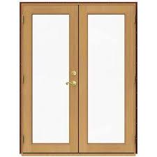 Andersen Outswing French Patio Doors by 60 X 80 Patio Doors Exterior Doors The Home Depot