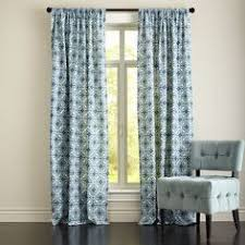 Pier 1 Imports Peacock Curtains by Damask Striped Curtain Indigo Pier 1 Imports Home