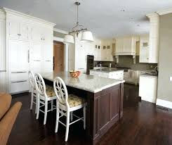 Hardwood Floors In Kitchen Dark Red Oak Laminate Cabinet Black Engineered Wood
